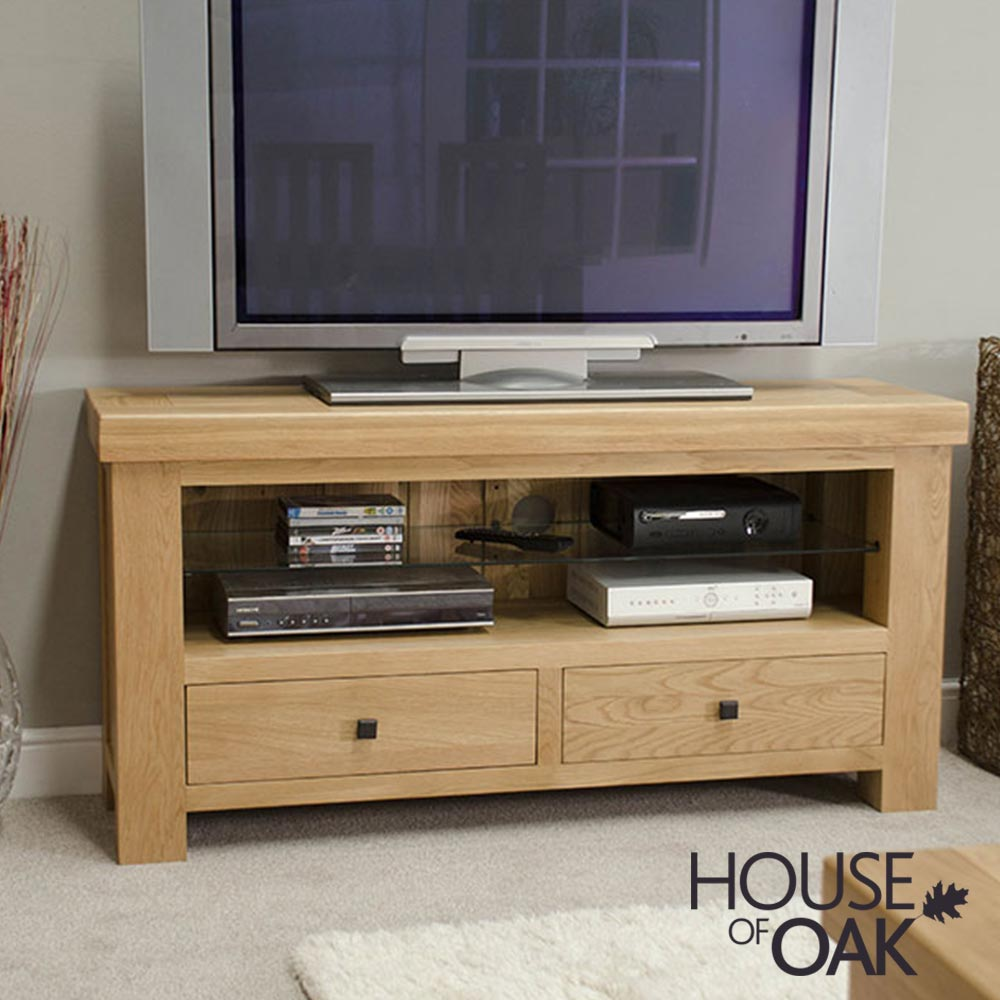 Bordeaux Oak TV Unit