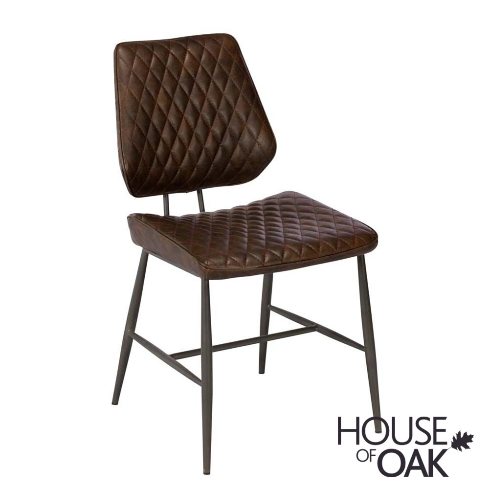 Dalton Dining Chair in Dark Brown