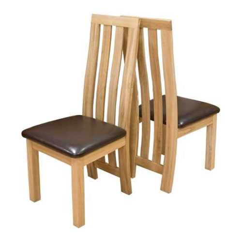 Paris Solid Oak Dining Chair