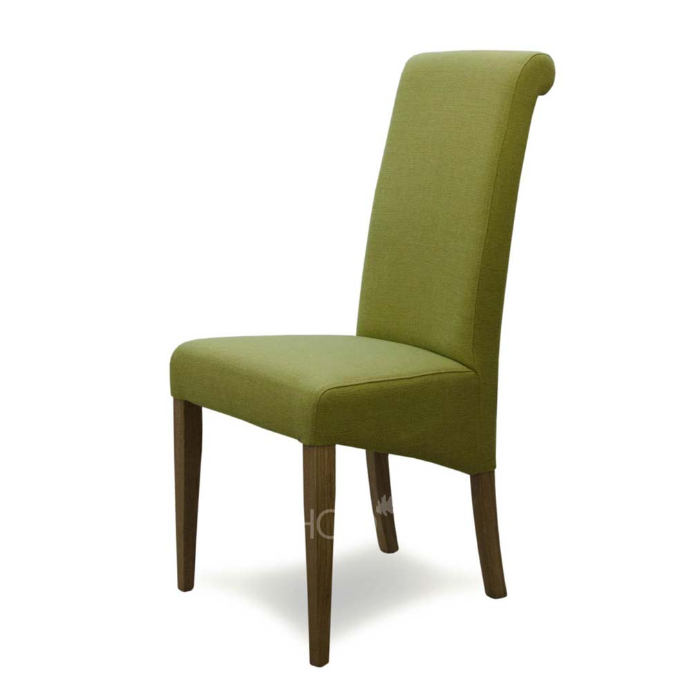 Italia Chair in Lime Fabric
