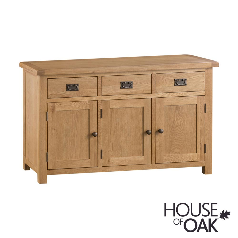 Harewood Oak 3 Door Sideboard