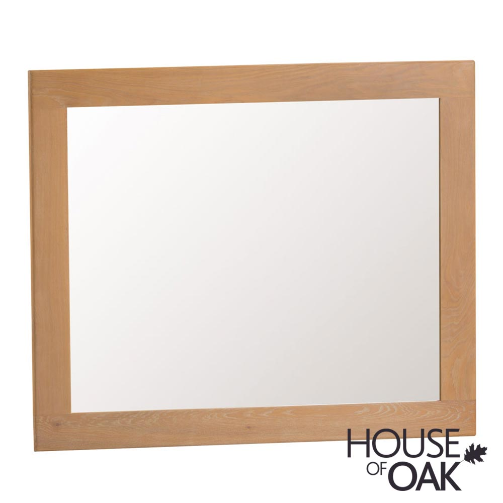 Harewood Oak Large Wall Mirror
