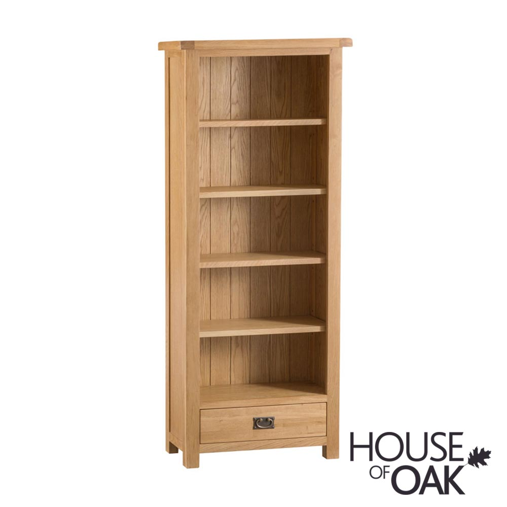 Harewood Oak Medium Bookcase