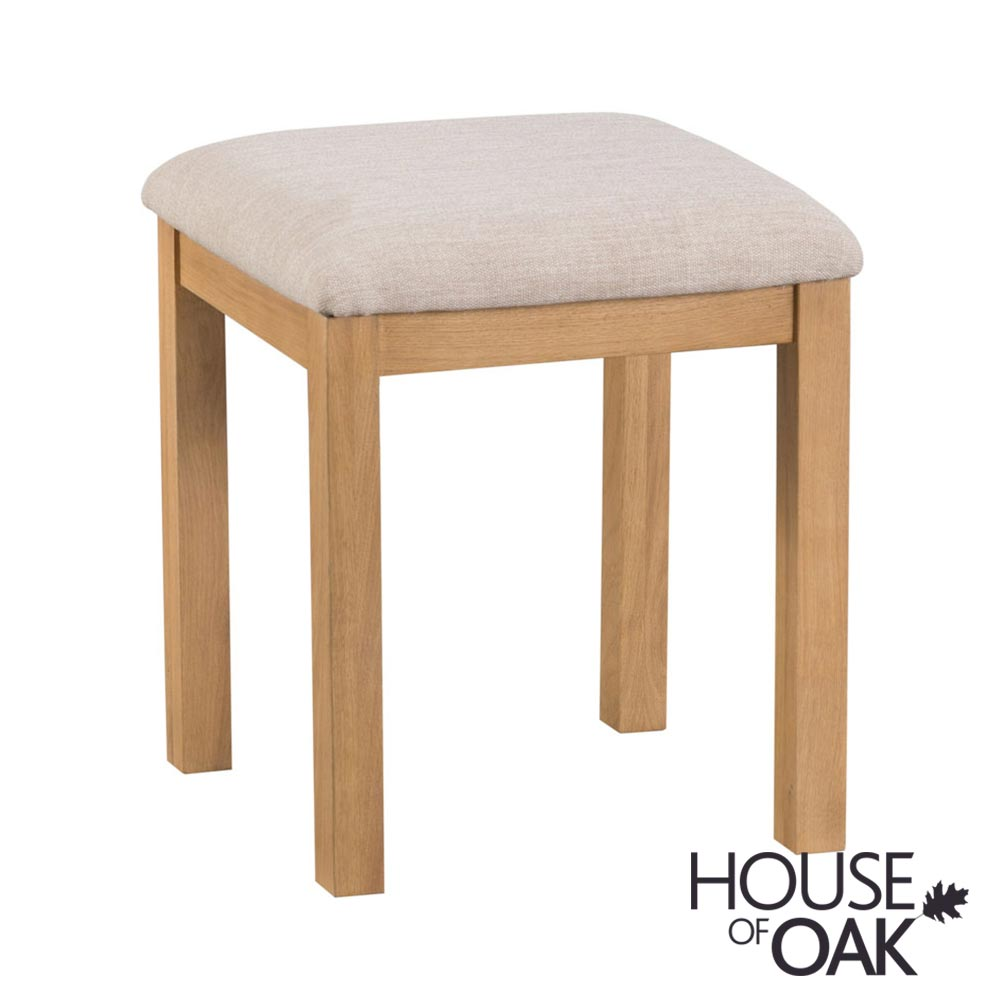 Harewood Oak Bedroom Stool