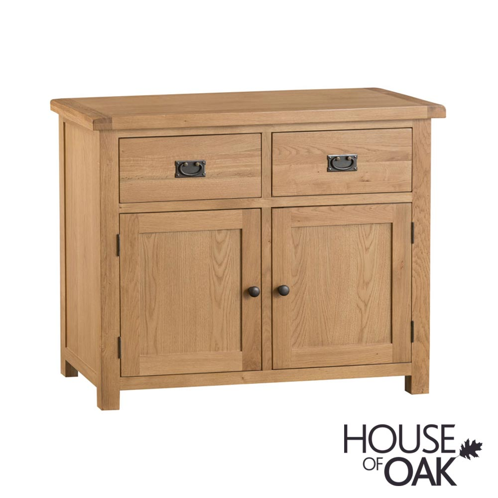 Harewood Oak 2 Door 2 Drawer Sideboard
