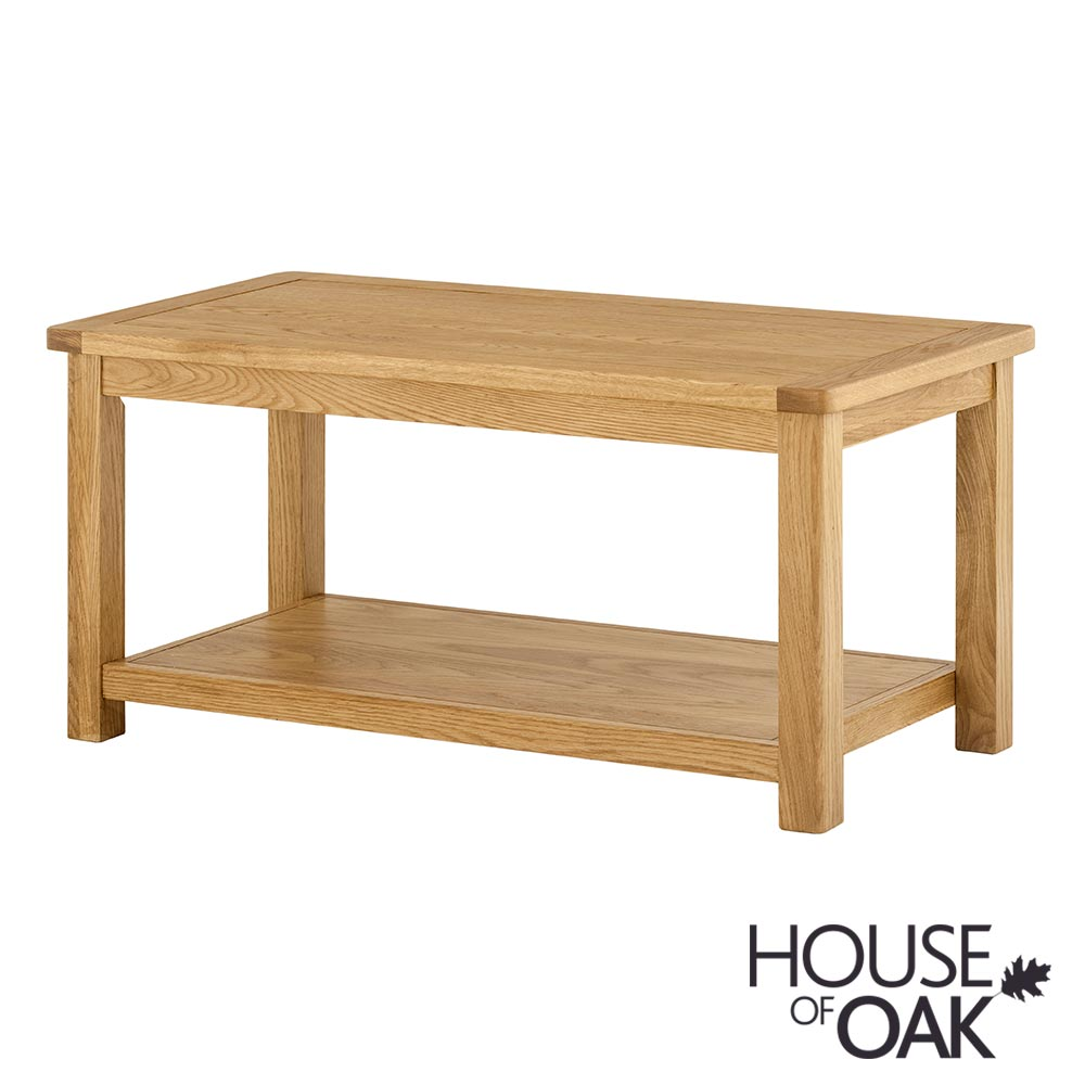 Portman Coffee Table in Oak