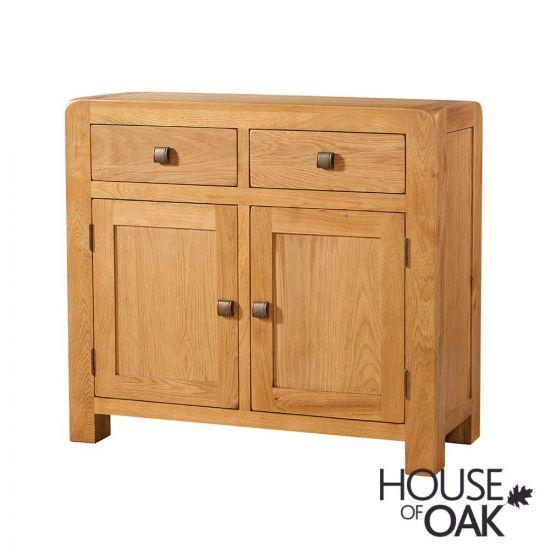 Wiltshire Oak 2 Door 2 Drawer Sideboard