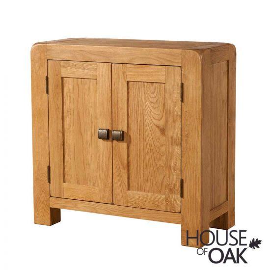 Wiltshire Oak 2 Door Cupboard