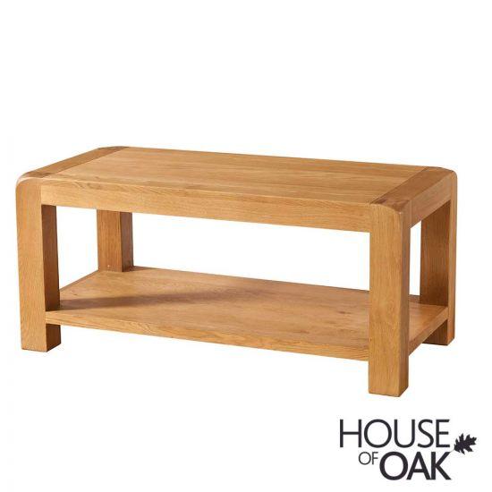 Wiltshire Oak Coffee Table with Shelf