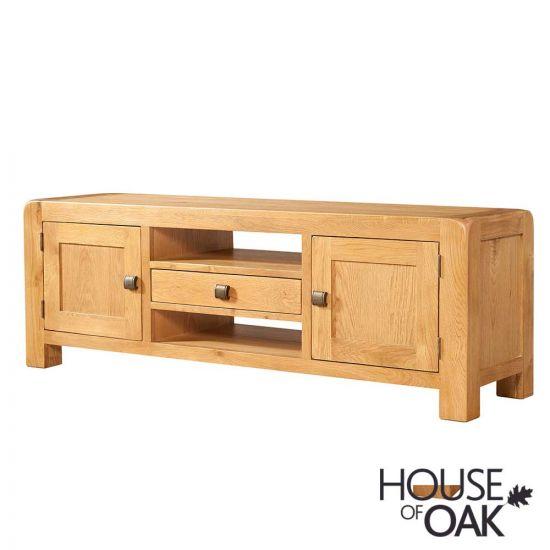 Wiltshire Oak Wide TV Cabinet