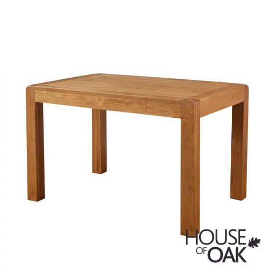 Wiltshire Oak 120cm Fixed Top Dining Table