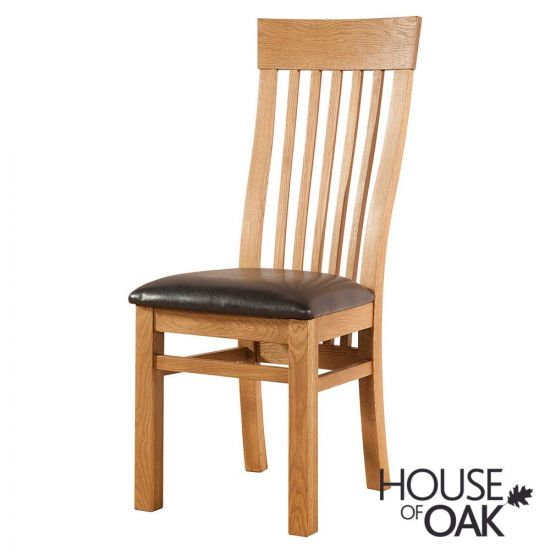Wiltshire Oak Curved Back Dining Chair