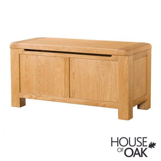 Wiltshire Oak Blanket Box