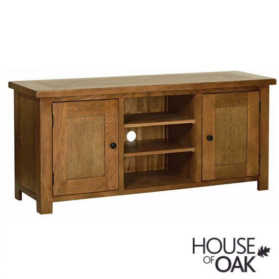 Farmhouse Oak 2 Door TV Cabinet