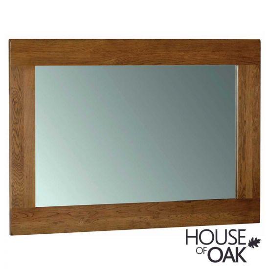 Farmhouse Oak Large Wall Mirror 130cm x 90cm