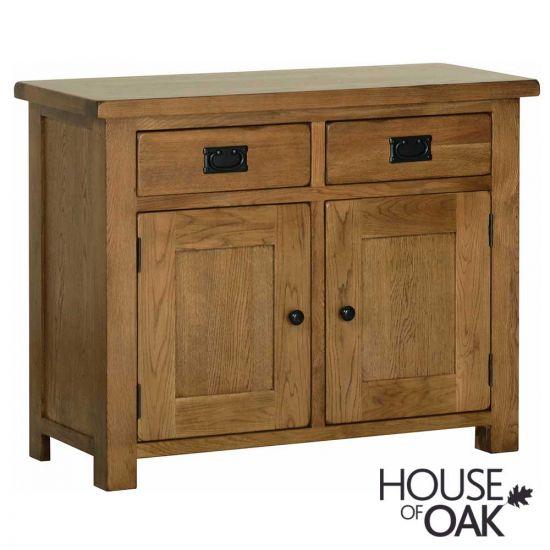 Farmhouse Oak 2 Door 2 Drawer Sideboard