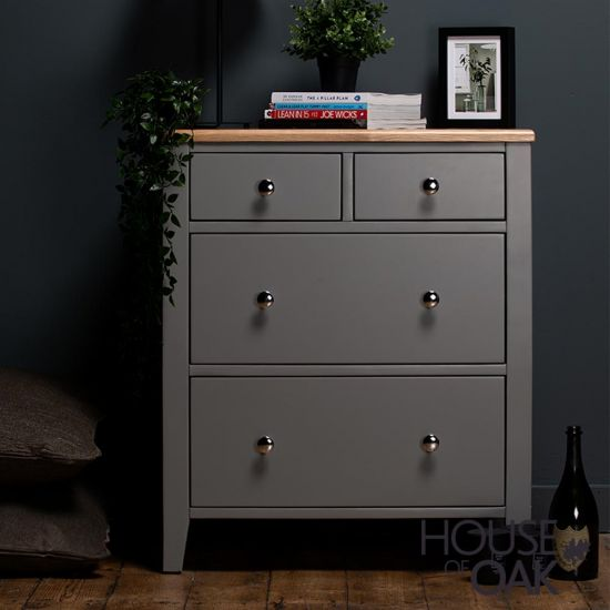 Sussex Grey Chest of Drawers