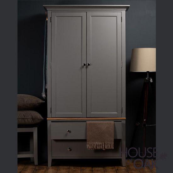 Sussex Grey Wardrobe