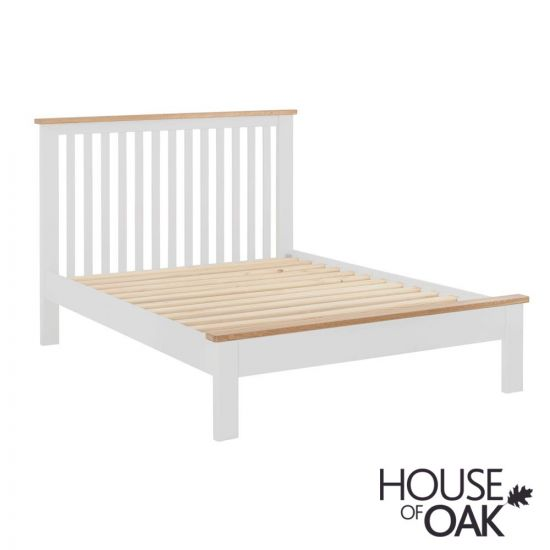 Portman Painted 5ft King Size Bed in White