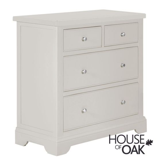 Symphony Grey 2 over 2 Chest of Drawers
