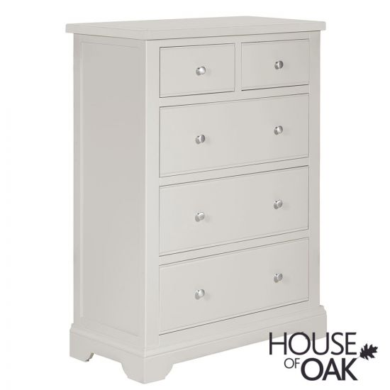 Symphony Grey 2 Over 3 Chest of Drawers