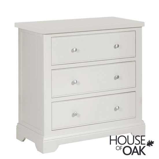 Symphony Grey 3 Drawer Chest of Drawers