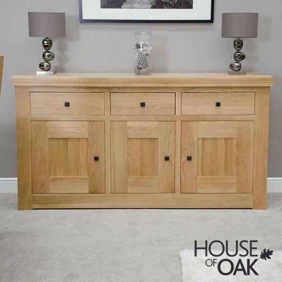 Manor Oak Medium Sideboard
