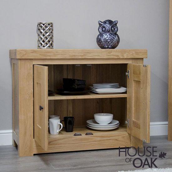 Manor Oak Occasional Cupboard