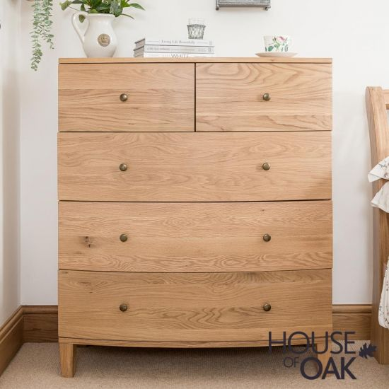 Bowness Oak 2 Over 3 Chest of Drawers