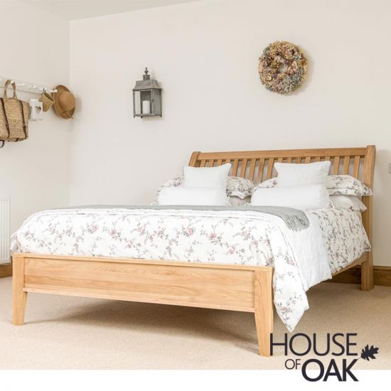 Bowness Oak 5ft King Size Bed