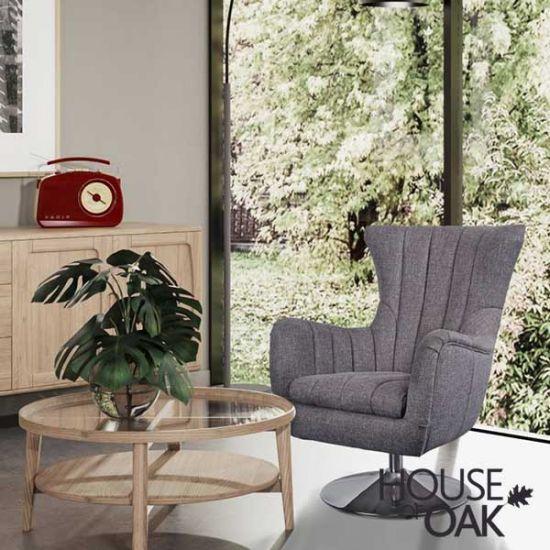 Cadiz Occasional Chair in Piero Bramble Fabric