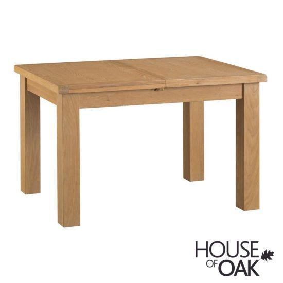 Harewood Oak 125cm Butterfly Extending Table