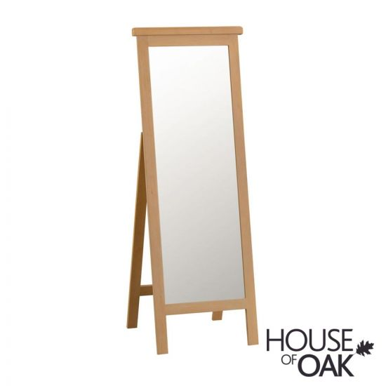 Harewood Oak Cheval Mirror