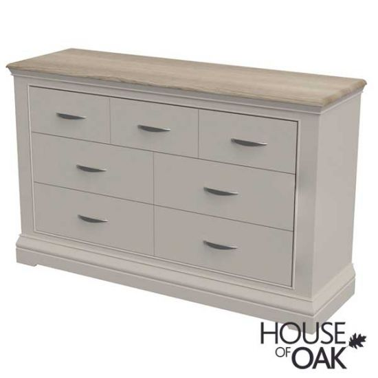 Kirkstone Winter Mist 3 Over 4 Chest of Drawers