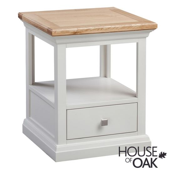 Cotswold Moonlight 1 Drawer Lamp Table