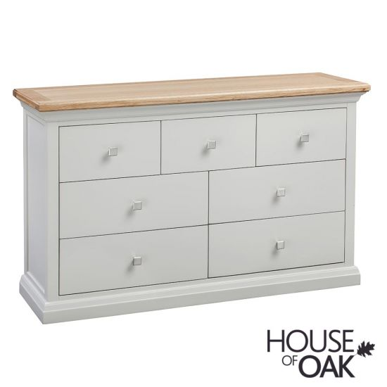 Cotswold Moonlight 7 Drawer Wide Chest