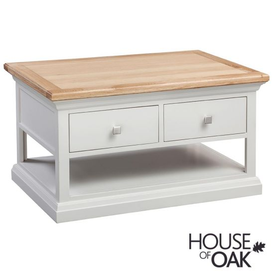 Cotswold Moonlight 2 Drawer Coffee Table