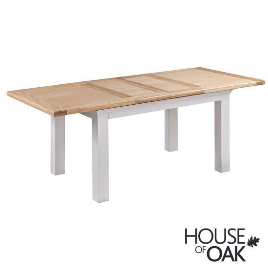 Cotswold Moonlight 132cm Extending Dining Table