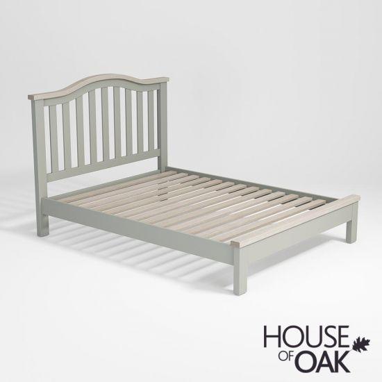 Ella Chalked Oak & Misty Grey 5FT King Size Bed