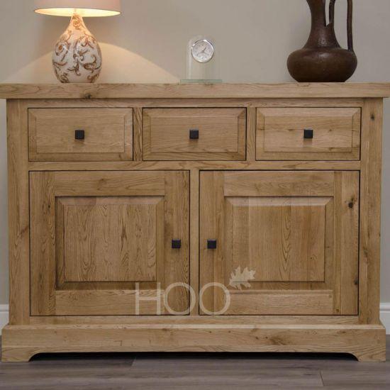 Deluxe Oak Medium Sideboard