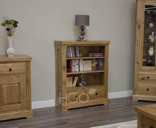 Deluxe Oak Small Bookcase