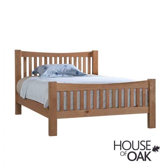Keswick Oak 4FT 6'' Double Bed