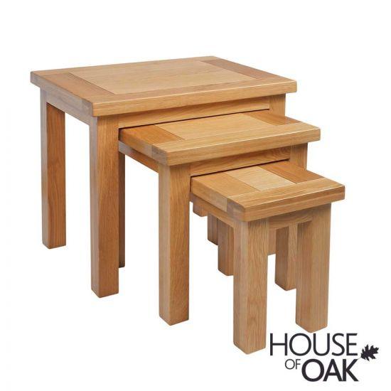 Keswick Oak Nest of Tables