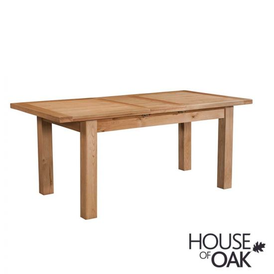 Coniston Oak 120cm Small Extending Dining Table
