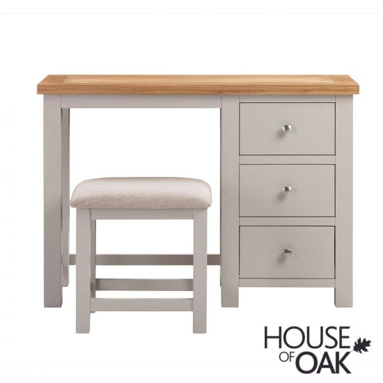 Keswick in Putty Dressing Table with Stool