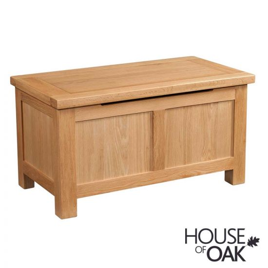 Keswick Oak Blanket Box