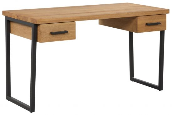 Harmony Oak Drawered Desk