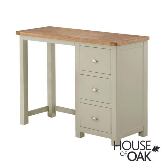 Portman Painted Dressing Table in Stone Grey