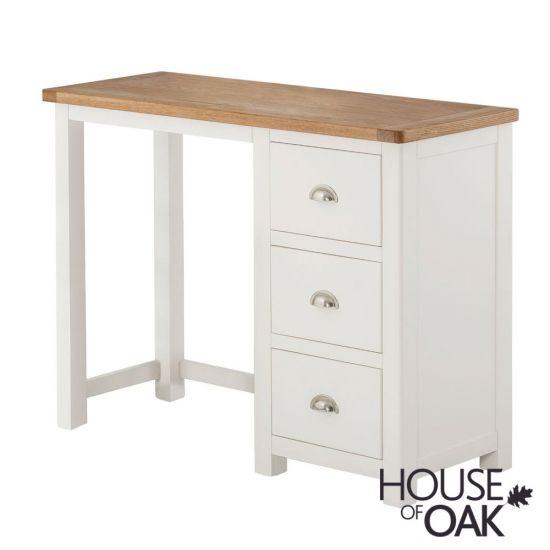 Portman Painted Dressing Table in White