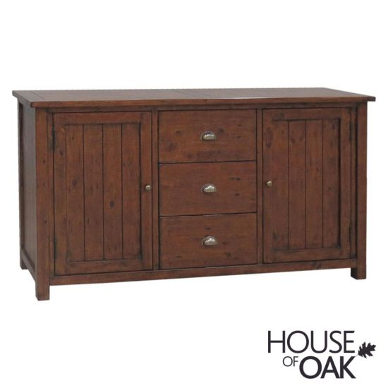 Driftwood Reclaimed Pine Large Sideboard